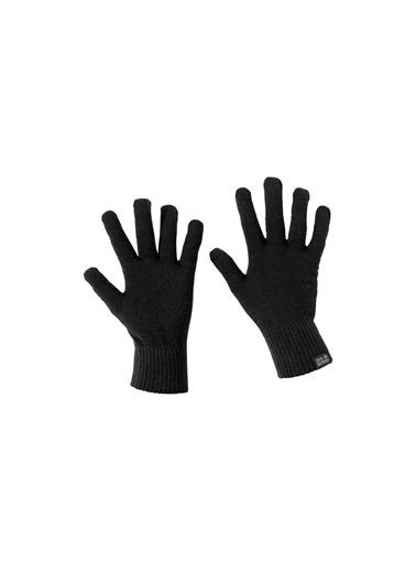 Jack Wolfskin Touch Knit Glove Unisex Eldiven - 1906391-6000 Siyah